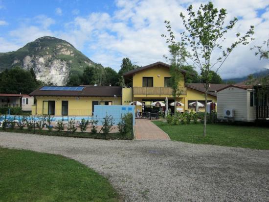 Residence Conca d'Oro: Reception building
