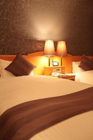 Okayama Koraku Hotel: Corner Twin Room