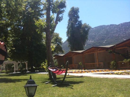 Likya Adrasan Hotel: From my hammock