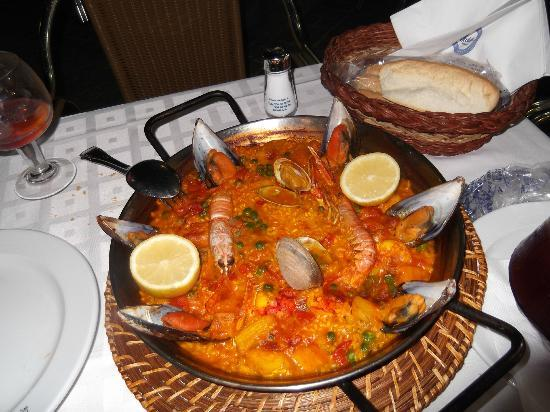 Modesto : paella marisco