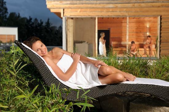 sauna au enbereich bild von bambados bamberg tripadvisor. Black Bedroom Furniture Sets. Home Design Ideas