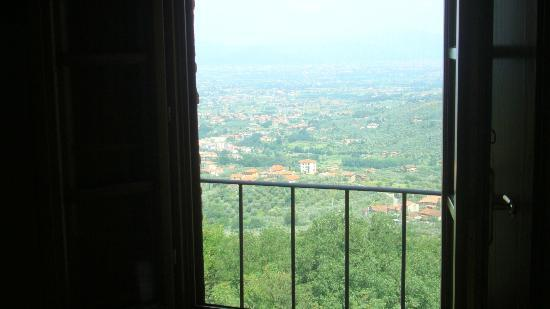 La Rocca Del Maestrino: View out of the bedroom.