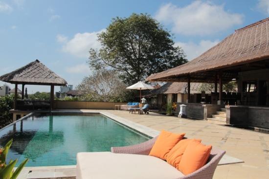 Villa Puri Balangan : the villa