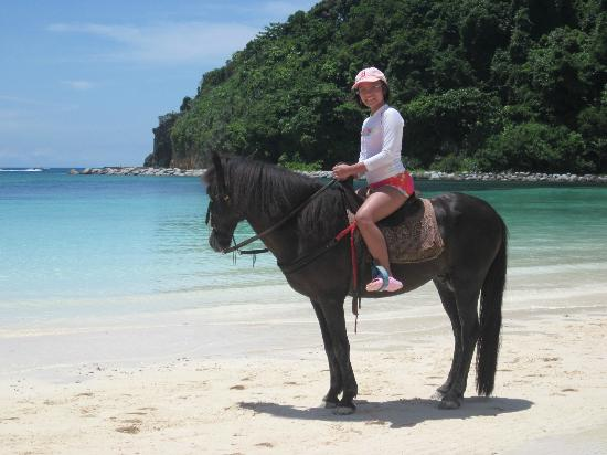 Fairways & Bluewater: My daughter enjoyed riding Black Beauty: she was rather wild!