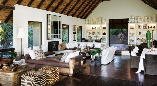 Londolozi Tree Camp: Tree Camp Lounge