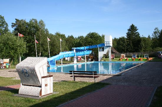 Oberohe, Alemania: Outdoor Swimmingpool