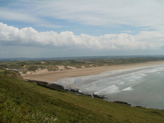 Saunton, UK: great views