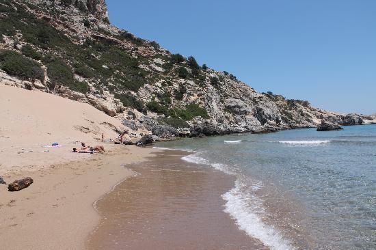 Rodas, Grecia: Пляж