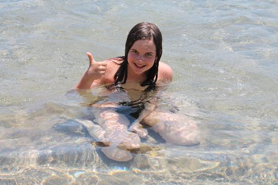 Rhodes, Grækenland: Чистейшее мелководье!