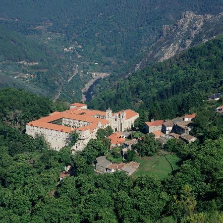Nogueira de Ramuin, إسبانيا: Vista del Parador