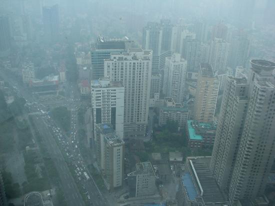 Renaissance Shanghai Zhongshan Park Hotel: 48th floor view in the morning