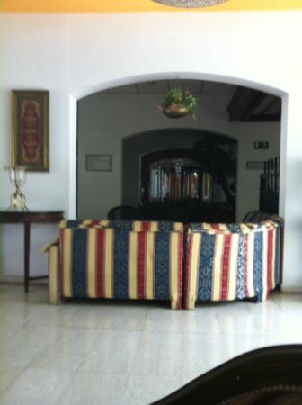 Paphiessa Hotel Apartments: Seating area