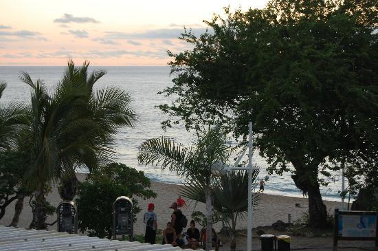 Residence Les Boucaniers: Vu de la terasse
