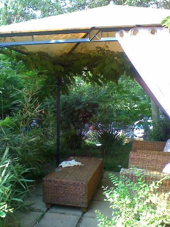 Hotel Castello : Gazebo in the garden