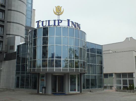 Tulip Inn Putnik Belgrade: Hotel entrance