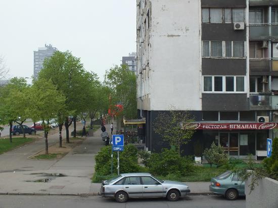 Tulip Inn Putnik Belgrade: Side of the hotel