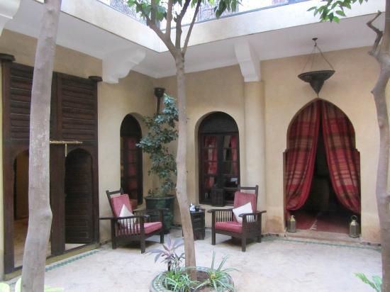 Riad Dama : Courtyard