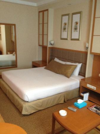 โรงแรมจัสมิน ซิตี้: 必要充分な広さ&清潔感