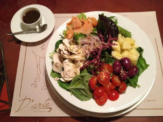D 39 arte galeria cocina bar cartagena restaurant reviews for Cocina mediterranea