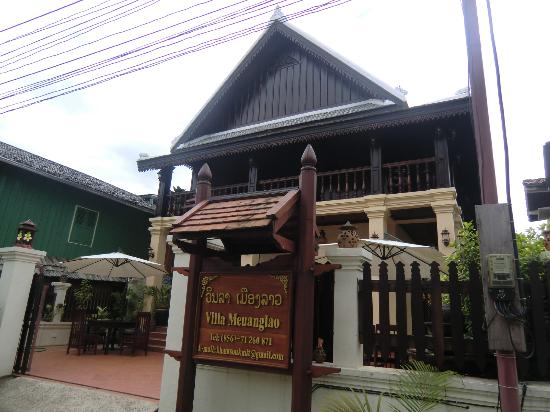 Villa Meuang Lao : Hotel outlook