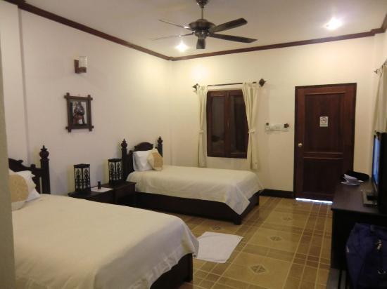 Villa Meuang Lao: cozy room