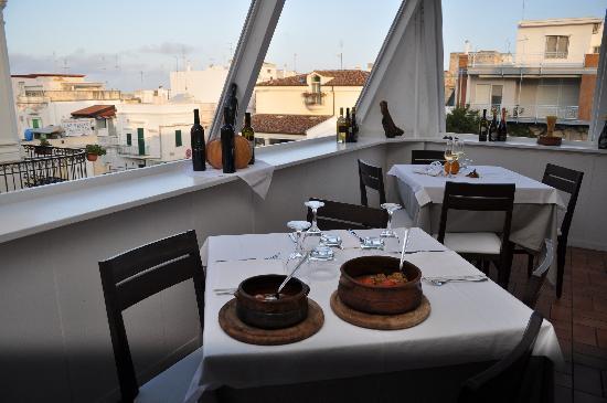 Pacifico Pizza & Restaurant: Il nostro terrazzo