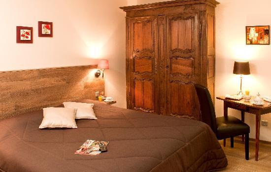 Hotel de l'Ange : chambre catégorie 3