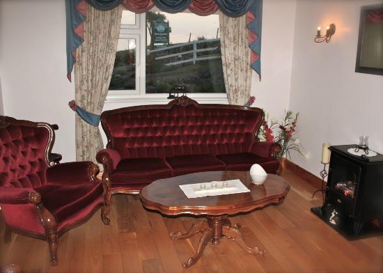 Windy Point House Bed & Breakfast: Aufenthaltsraum mit TV, Büchern und Brettspielen