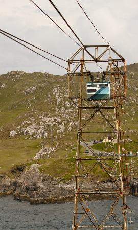 Windy Point House Bed & Breakfast : 100m entfernt das Cable Car nach Dursey Island