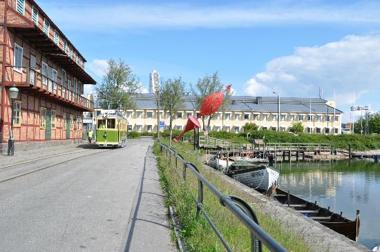 Park Inn by Radisson Malmo: Fishing area of town