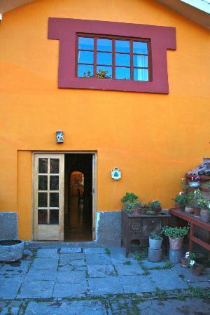 Hacienda Marcabamba: Front Door