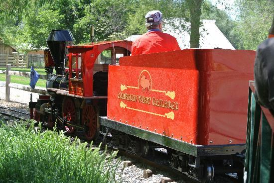 American West Heritage Center: Sweet little train ride