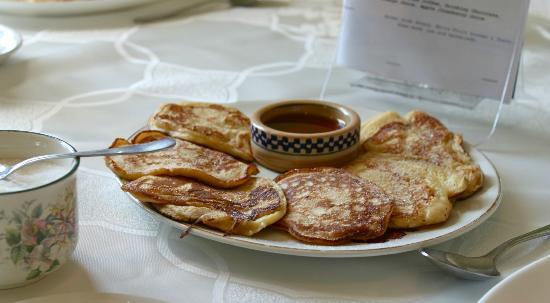 Clonmore Lodge: yum yum pancakes