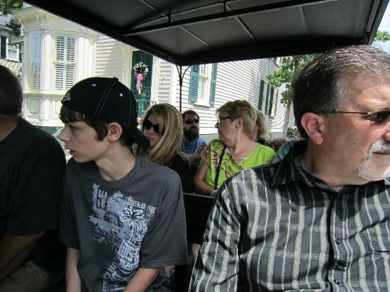 Classic Carriage Works, LLC: Our family on tour - the 15-year-old is listening!