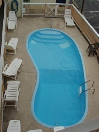 Seaside Heights, NJ: Pool-Sea Palace Motel