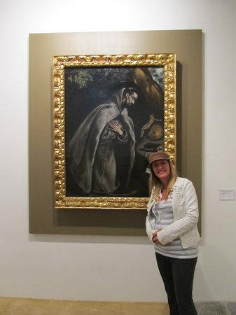Bodegas Tradicion : El Greco at the art gallery