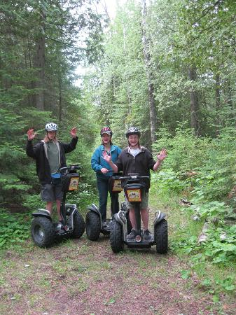 Off-Road Segway Adventures: Look...no hands!