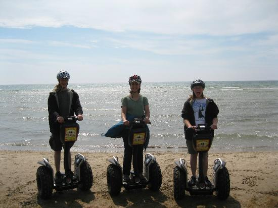 Off-Road Segway Adventures: Segways on the beach!
