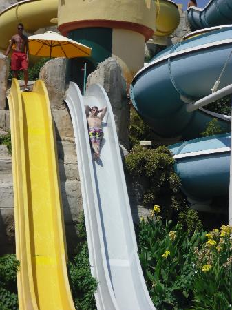 Aquafantasy Aquapark Hotel & SPA: I must go on scary slides :)