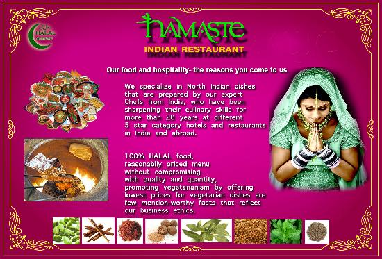 A brief introduction of Namaste