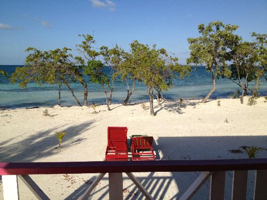 Coco Plum Island Resort: The view from our cabana.