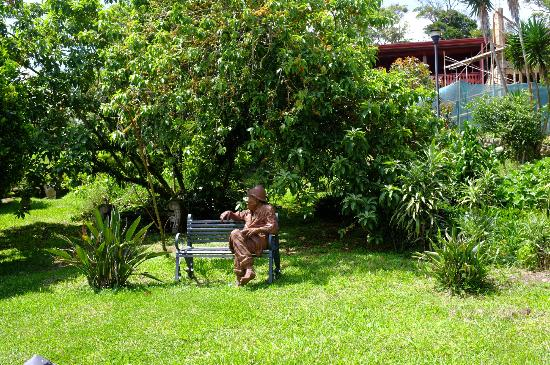 Hotel Fonda Vela: Jardim
