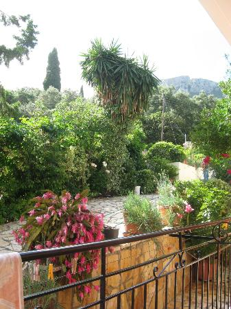 Marilena Studios: View from our ground floor apartment