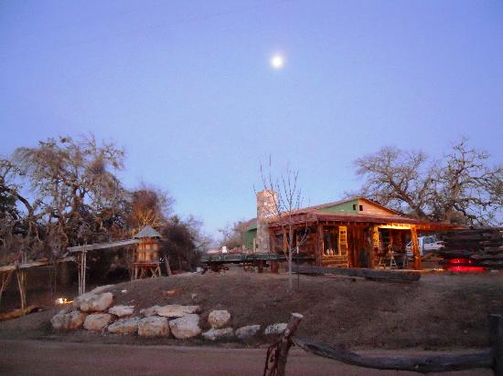 The full moon over Barons CreekSide