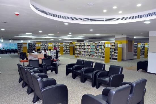 The Anna Centenary Library: Interior