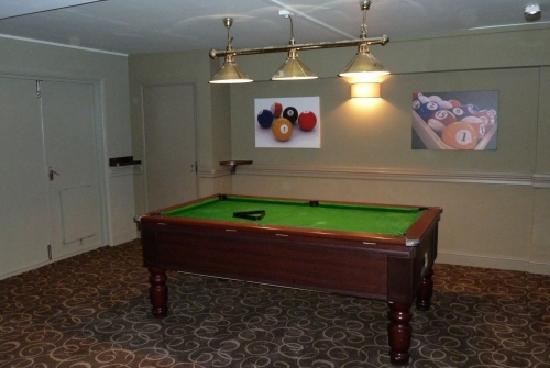Winchelsea Sands Holiday Park - Park Holidays UK: Pool table