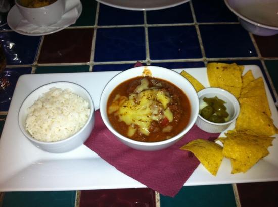 Mama Liz's Soul Food Shack: Texas beef chilli
