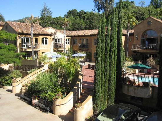 Hotel Los Gatos: view from balcony