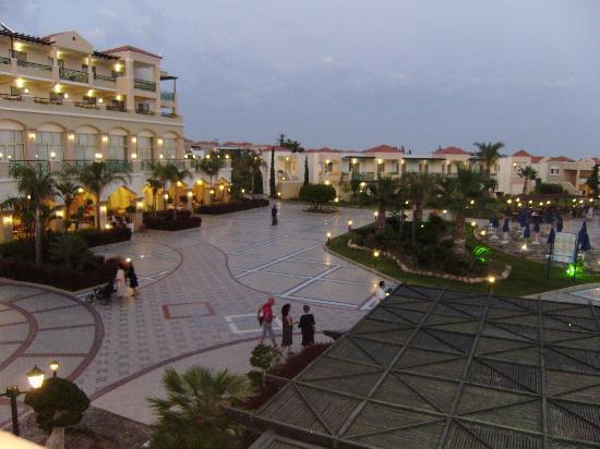 Lindos Princess Beach Hotel: VUE
