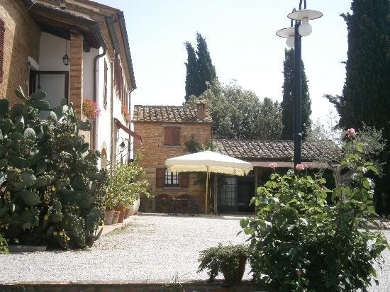 La Bandita Hotel Siena: terraza-restaurante